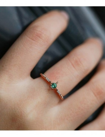 Emerald Engagement Ring...