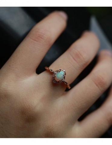 Opal engagement ring...