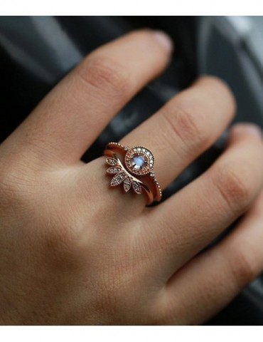 Art deco engagement ring...