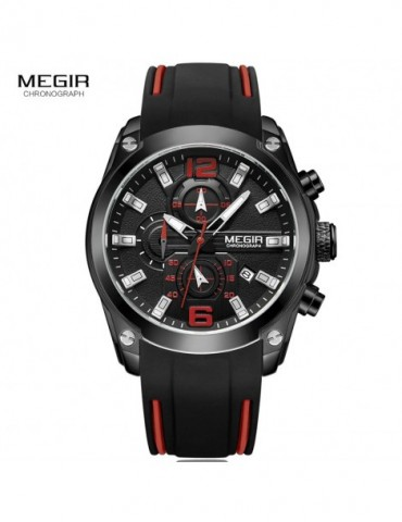 Megir Mens Quartz Analogue...