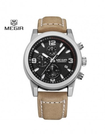 Megir Mens Chronograph Band...