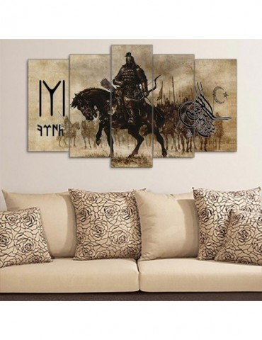 Rider on the horse wall decoration for your house