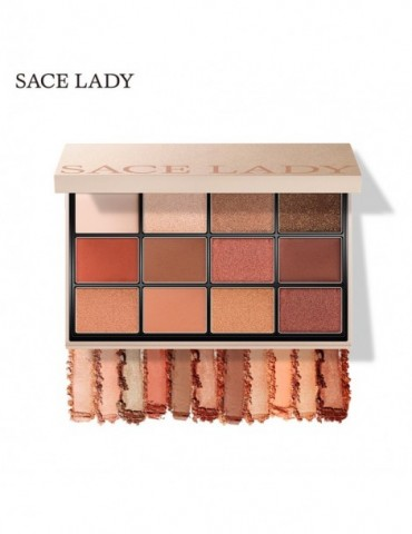 SACE LADY Eyeshadow Palette Makeup Glitter Eye Shadow Pallete Professional Matte Shadow Make U