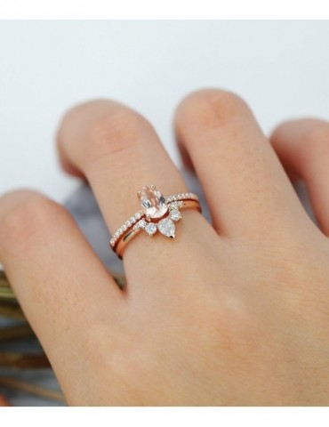 Morganite engagement ring...