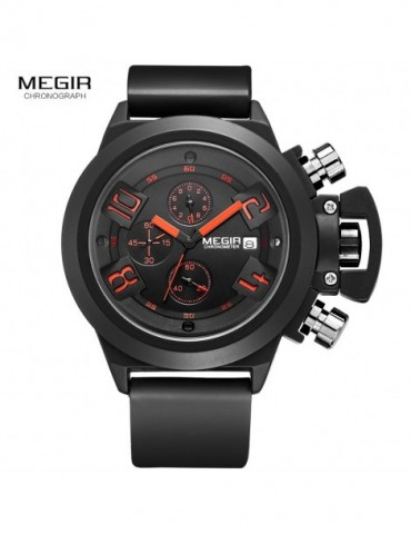 Megir Fashion Mens Silicone...