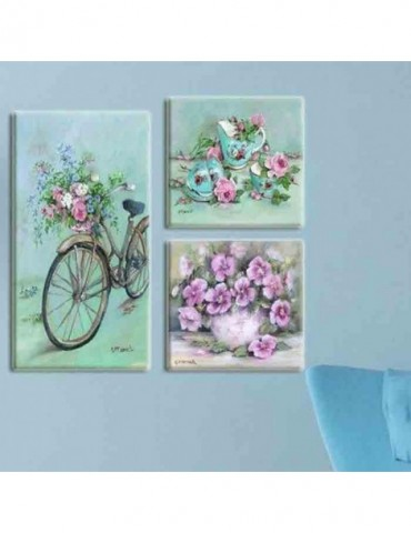 Bicycle with flower fashion...